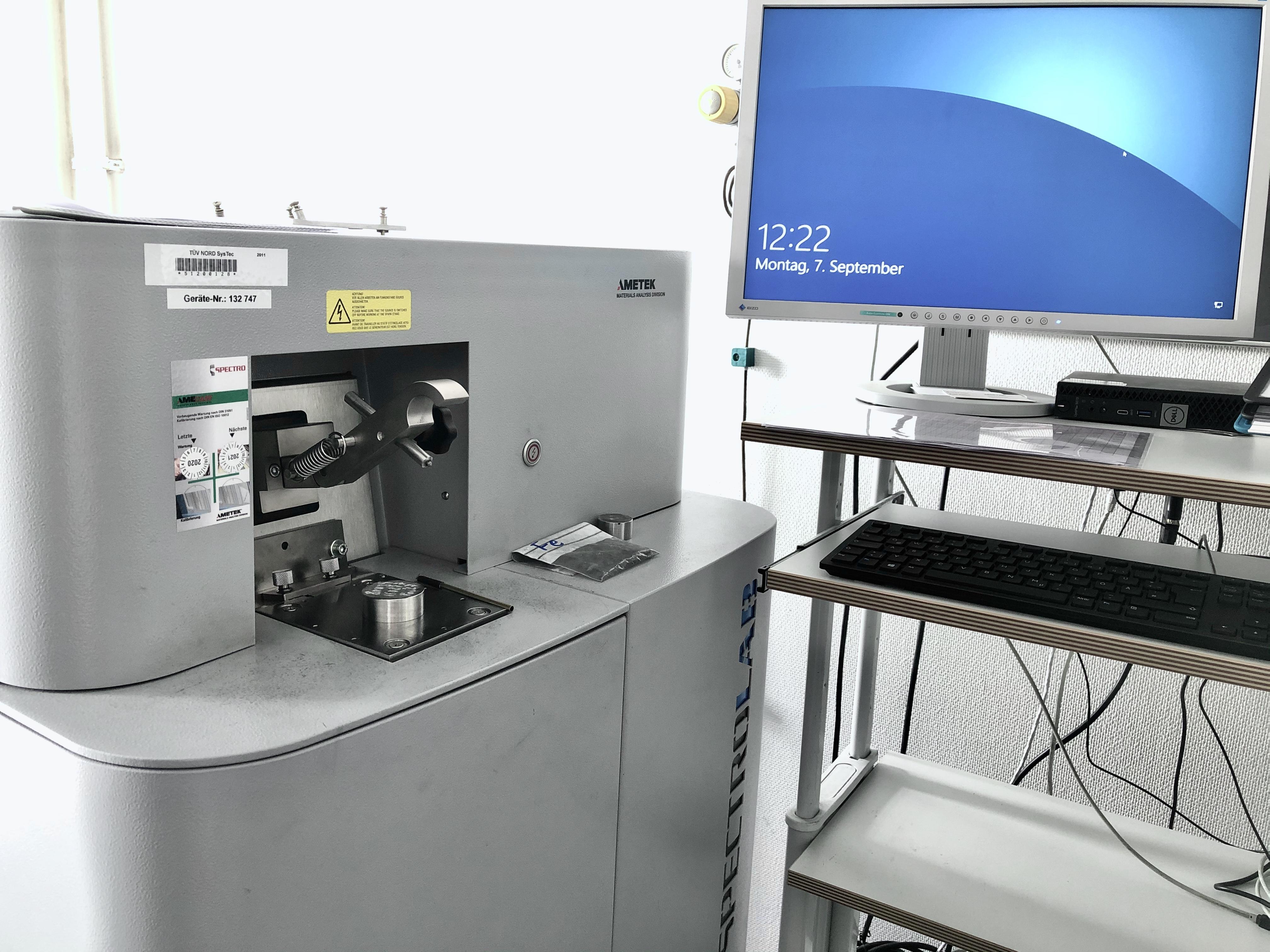 Werkstoffanalyse - Chemische Zusammensetzung